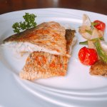 香煎海鱸魚
