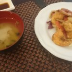 zuppa di miso e gamberi sale e pepe