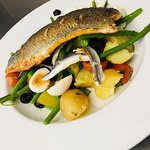 Some of the specials served at the Bridge Inn. Fresh and flavoursome.