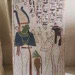 Painted wooden stela