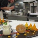 Restaurant Le Pier - Cuisine gastronomique - Hotel L'Aigle des Neiges Val d'Isère -Foie Gras & H