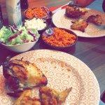 Peri-Peri Chicken with Fernandos Rice and Salad