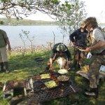 Lough Corrib 2017, Fishermen's BBQ