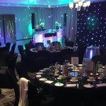Dining & disco room tastefully done
