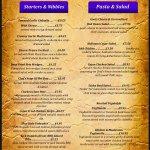 New Menu launched February 2018