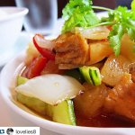 We cater for vegetarians! Try our Sweet and Sour Tofu!!