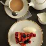 Strawberry & Raspberry Tart