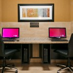 Stay productive during your time away from home in our business center.