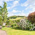 Garden and views surrounding Hill Crest