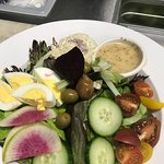 Niçoise salad with Tupelo honey dressing