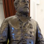 Statue of Robert E. Lee in old chamber