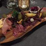 Cold meat board