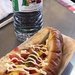 Sonoran hot dog is delish.