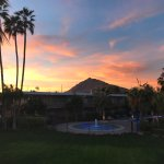 Sunset with Camelback in the background