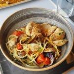 Spaghetto de Kamut aux fruits de mer