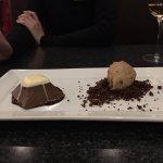 Maple Ice Cream Dark Chocolate & Lava