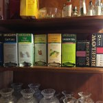 Great assortment of tea available all day