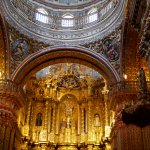 Iglesia de la Compania de Jesus (note cameras not usually allowed)