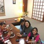 dinner at Fuji
