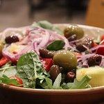 My wife's salad