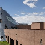 University of Wyoming Art Museum is located within the Centennial Complex - pictured.