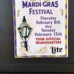 celebrating Madri Gras