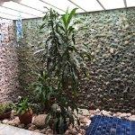 Wild Gingers garden bathroom