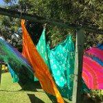 Batiks blowing in the wind