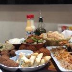 Maravilhosa a comida no Basha.