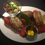 Twin Lobster tail dinner for $30!