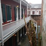 outside our room an inner courtyard