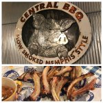 Awesome food. Great atmosphere.  We shared a full slab of ribs. It was delicious. Even took some