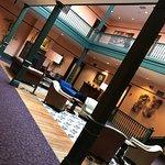 second floor lobby/lounge area