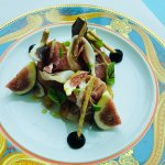 Entree fig and prosciutto at Vanitas