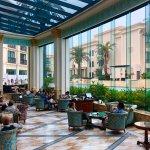 Le Jerdin - lobby lounge