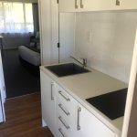 New Kitchenette in our newly renovated 1 bedroom unit.