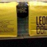 """À l'expo sur Leonard Cohen:"""" Une brèche en toute chose"""", le 01/02/18!"""