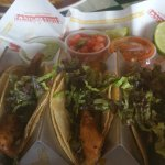 not much fish on the fish tacos