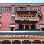 Building of Thiksay Monastery