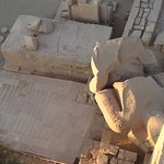 Ramesseum (Mortuary Temple of Ramses II) Foto