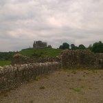 Rock of Cashel from Hore Abbey