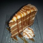 Carrot Cake with Coconut Cream Cheese Icing