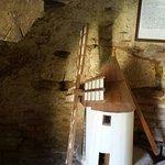 Maquette du moulin servant aux explications du mécanisme et de l'histoire