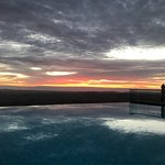 Sunrise by the Infinity Pool