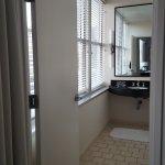 Huge windows in bathroom (not overlooked!)