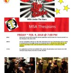 Thespian Sponsored Event!