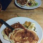 Petit aperçu des pancakes (brunch)