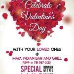 Valentine's Day Dinner Reservation