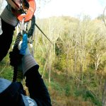 Our continuous belay system ensures you're never unhooked from the course, even among the treeto
