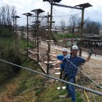 Tight ropes, suspension bridges, catwalks, and more! Our obstacle course offers a variety for al
